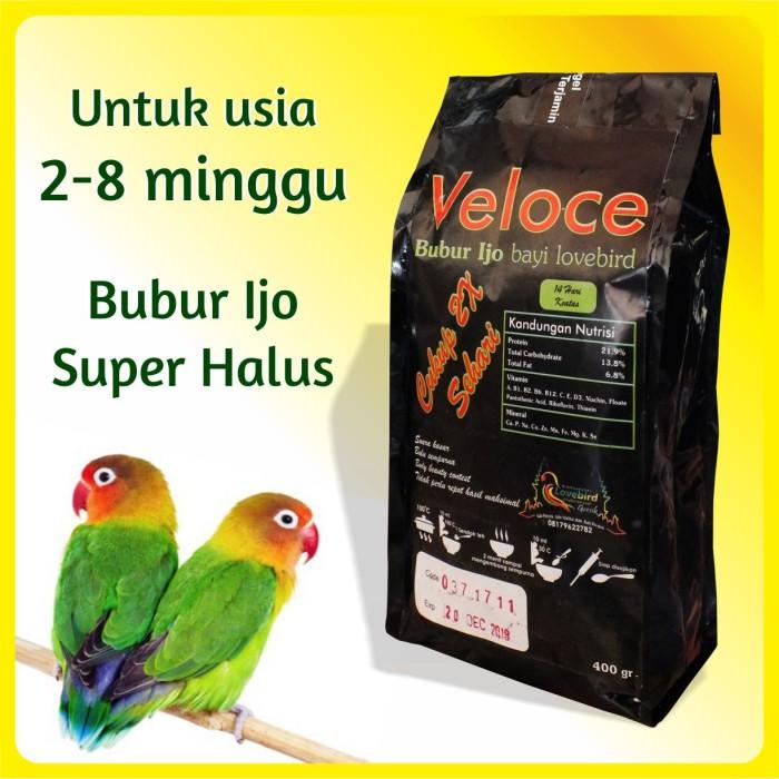harga Pakan burung bubur ijo bayi love bird / lovebird veloce [400gr] Tokopedia.com