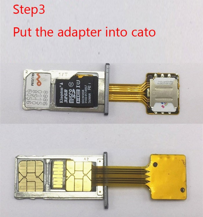 harga Dual sim adapter sim hybrid extender sim Tokopedia.com
