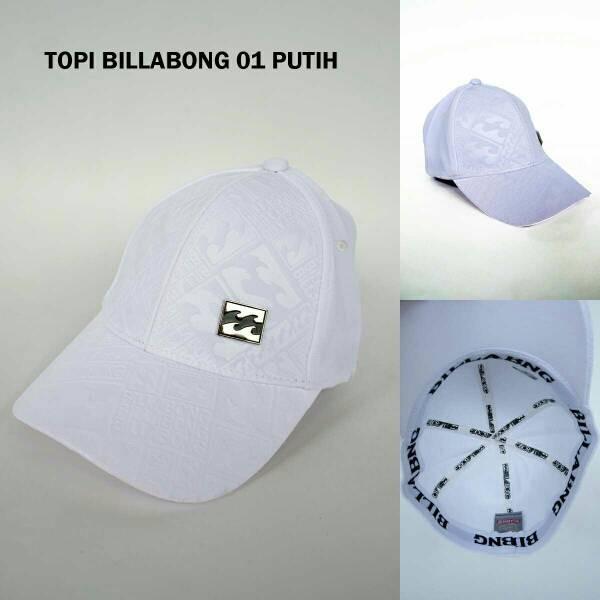 TOPI BILLABONG / SNAPBACK / HAT / CAP BILLABONG 01 PUTIH