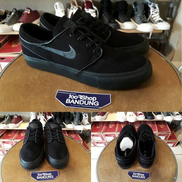 Nike sb stefan janoski classic triple black bnib (free tas sepatu) bc3c9006db