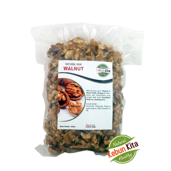 harga Walnut 250gr ( kacang walnut ) Tokopedia.com