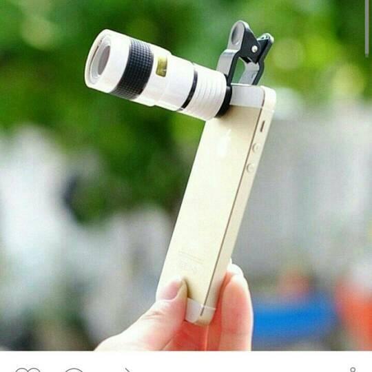 harga Lensa telezoom optical 8x buat hp Tokopedia.com