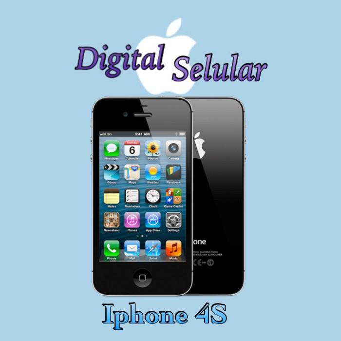 Jual Iphone 4s 32GB Garansi 1 thn - Putih - Sc digital  d5484a74fb