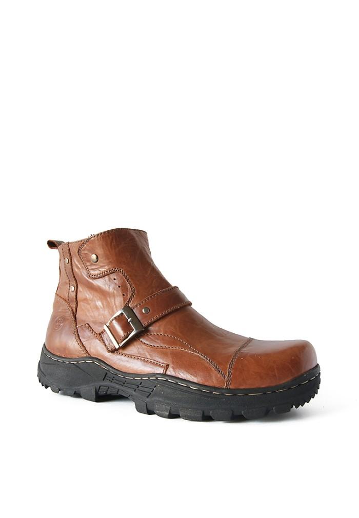 harga Sepatu boots kulit asli / borsa - robust 512 Tokopedia.com