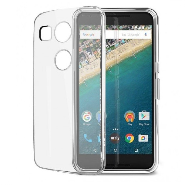 Foto Produk Ultra Thin TPU Case for LG Nexus 5X - Transparent dari choki tech