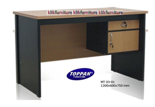 harga Mt 0301 1/2 biro meja tulis toppan Tokopedia.com