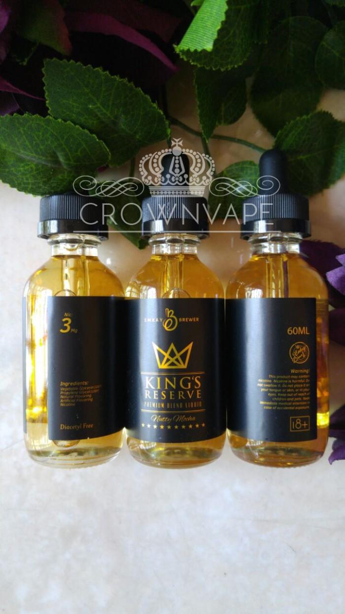 Kings Reserve Emkay Brewer 60ml 3mg Premium Locala E Liquid Bananalicious Banana Licious 60 Ml 3 Mg Vape Lokal