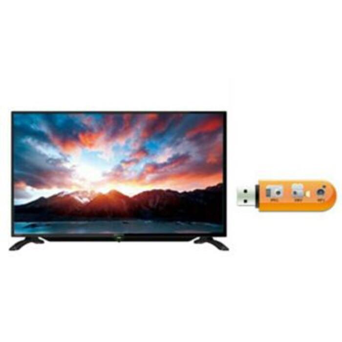 harga Televisi tv led 32inch sharp 32le185 usb movie Tokopedia.com