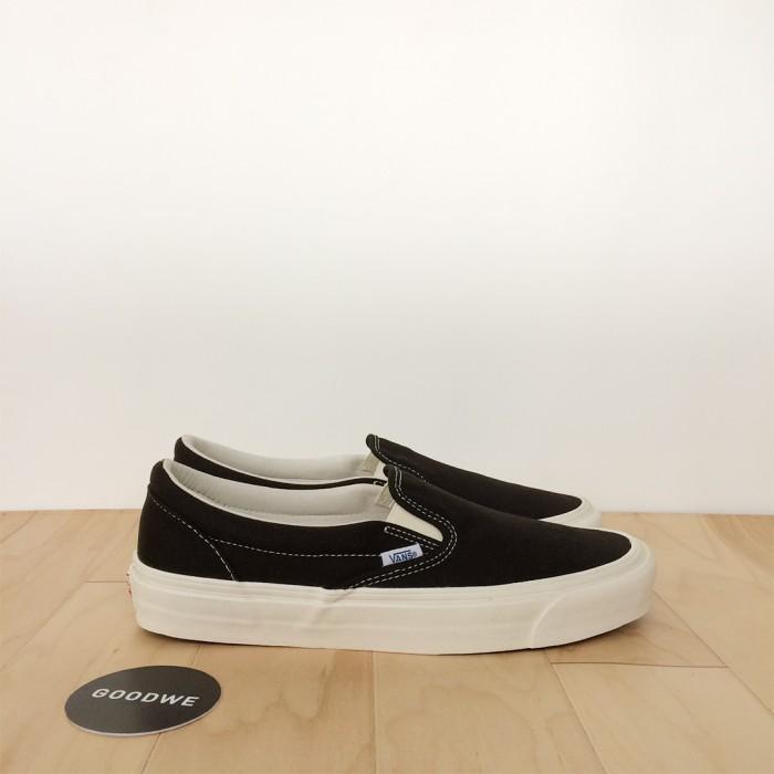 b467bb4295 Jual Vans Vault OG Classic Slip On LX Black White - DKI Jakarta ...