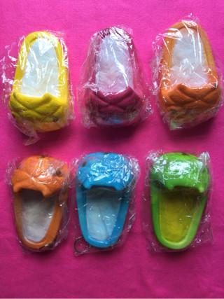 Jual Souvenir Squisy Squishy Sandal Selop Kapibarasan Jumbo