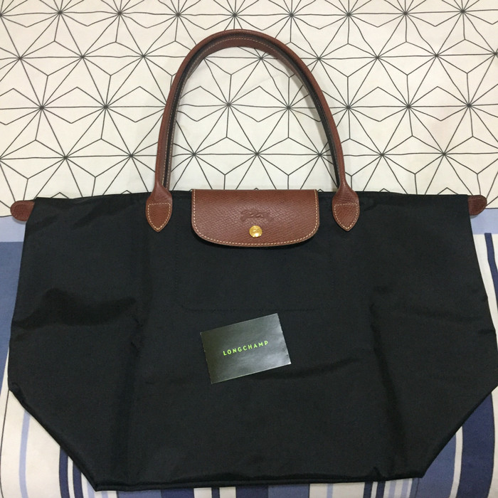 Foto Produk Authentic Longchamp Le Pliage Large Long Handle (LLH) black dari Anatavinshop