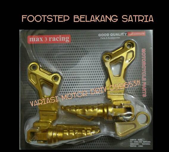 harga Footstep belakang satria fupower footstep belakang satria 150 racing Tokopedia.com