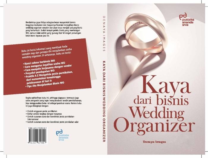 Jual Buku Bisnis Cetak Terbatas Kaya Dari Bisnis Wedding Organizer