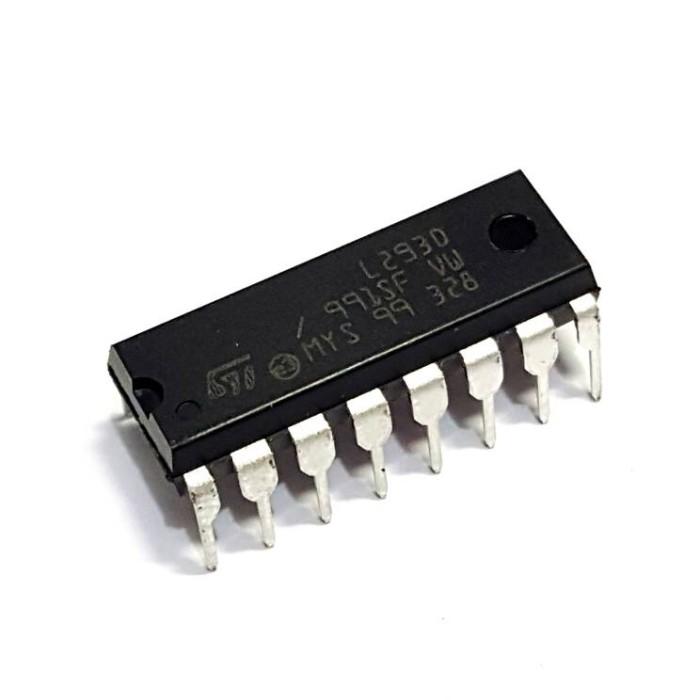5x L293D Motor Driver IC 4 Channel Push Pull Stepper H-bridge DIP-16
