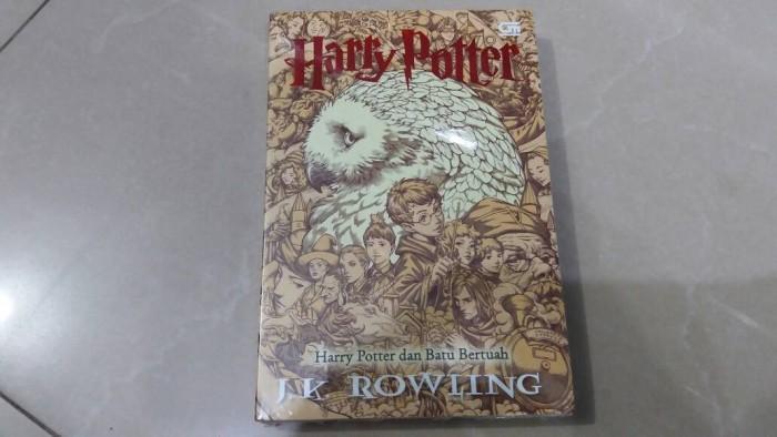 harga Novel harry potter dan batu bertuah (cover baru buku #1) Tokopedia.com