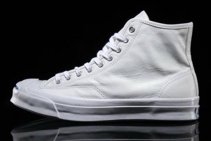 3f2f2815976ca3 Jual Converse jack purcell signature white leather high - Kota ...