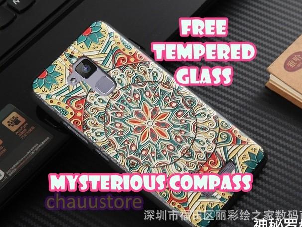 """3D Case Asus Zenfone 3 Max 5"""" ZC520TL Batik Art Silicone Softcase"""