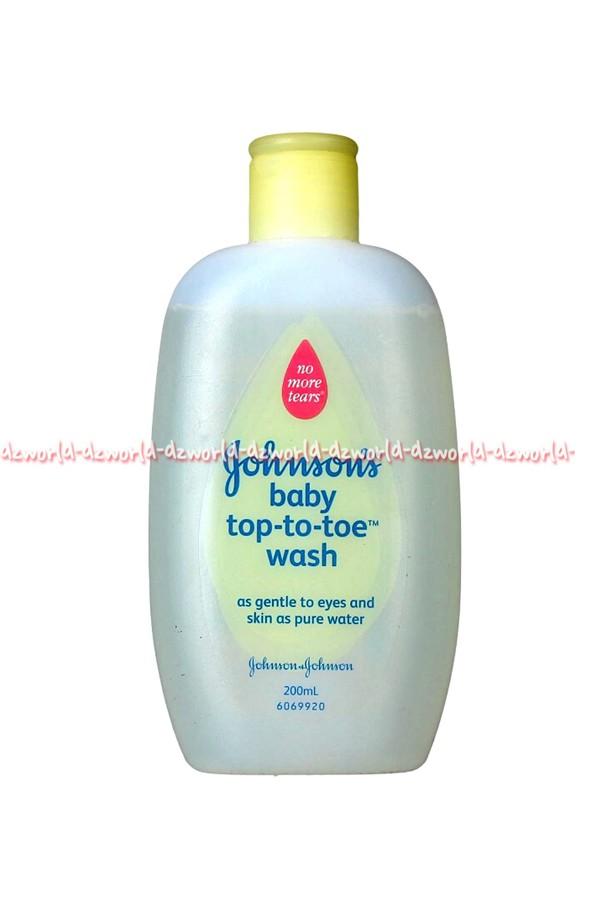 harga Johnson's baby top to toe wash sabun dan shampo untuk bayi 200ml Tokopedia.com