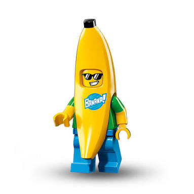 Foto Produk Lego Minifigures Series 16 No. 15 Banana Suit Guy Original Sealed MISP dari Whitesides