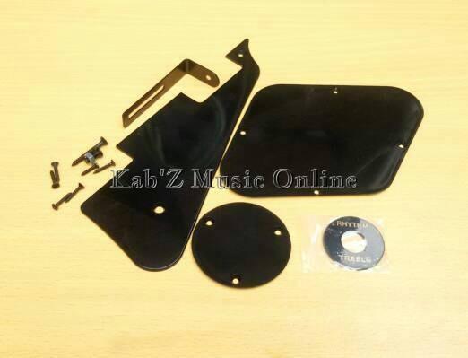 harga Pickguard gitar gibson les paul / epiphone les paul black glossy Tokopedia.com
