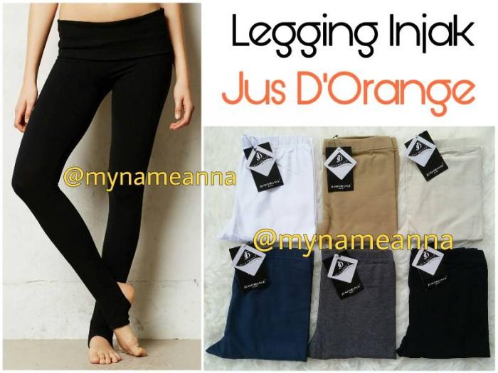 Jual Legging Injak Tebal Jus D Orange L Xl No 38 Stirrup Kota Tangerang Selatan Mynameanna Store Tokopedia