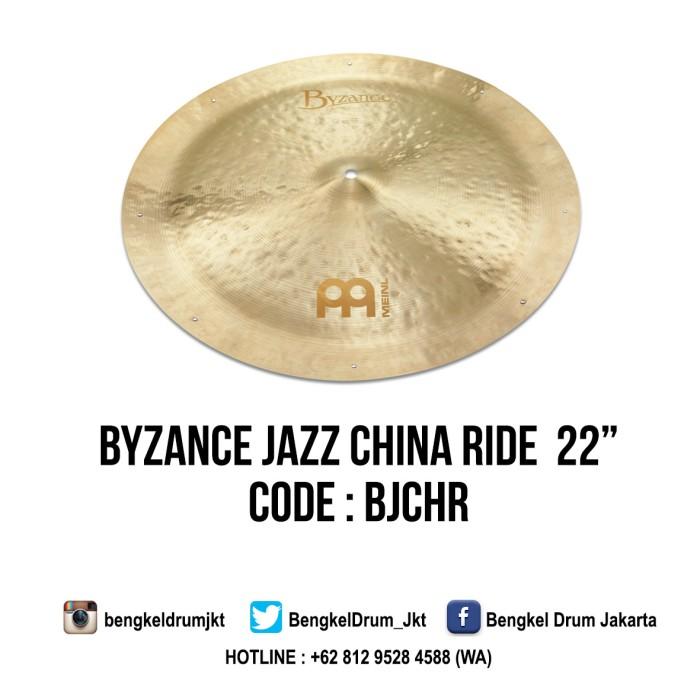 "Foto Produk Meinl Cymbal Byzance Jazz China Ride 22"" dari Bengkel Drum Jakarta"