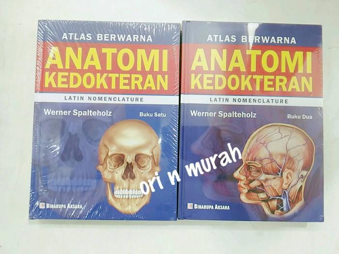 harga Atlas berwarna anatomi kedokteran buku 1 & 2 set Tokopedia.com