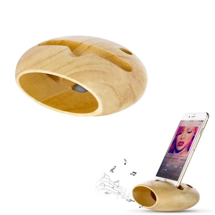harga Wooden iphone charging dock & stand holder amplifier Tokopedia.com