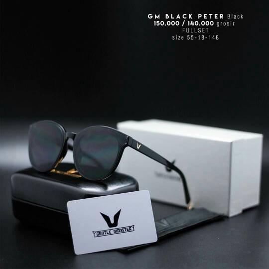 Jual Kacamata Fashion Gentle Monster Black Peter  051012624d