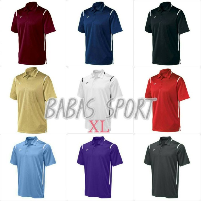 e0d59f20f Nike Men's Team Gameday Polo Dri-Fit Size XL 100% Original - Putih, XL