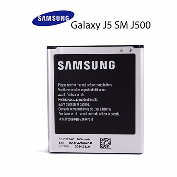 Samsung Baterai Galaxy J5 J500F / Prime SM-G530 2600 mAh Original