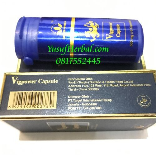 jual vig power capsule asli green word vitalitas pria perkasa