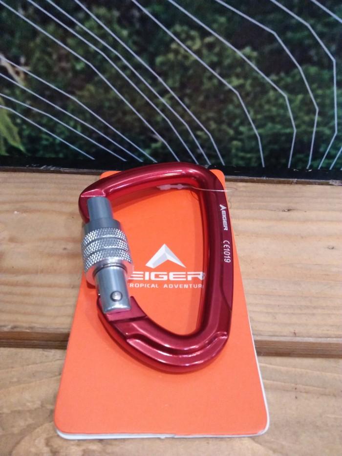 Jual Carabiner Screw Ihd0019 Carabiner Eiger Kota Padang Pro Outdoor Tokopedia