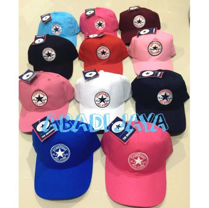 ... harga Topi converse   topi baseball   baseball cap   topi custom   topi  Tokopedia. edfddc3c0e
