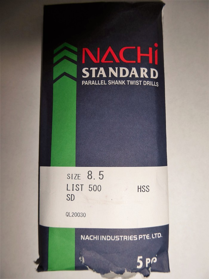 harga Nachi 8.5 mm mata bor besi hss asli Tokopedia.com