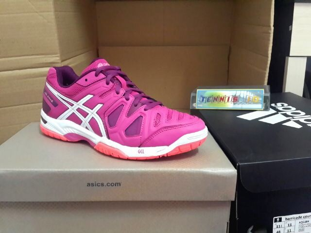 harga Sepatu tenis asics gel game women's - pink/white Tokopedia.com