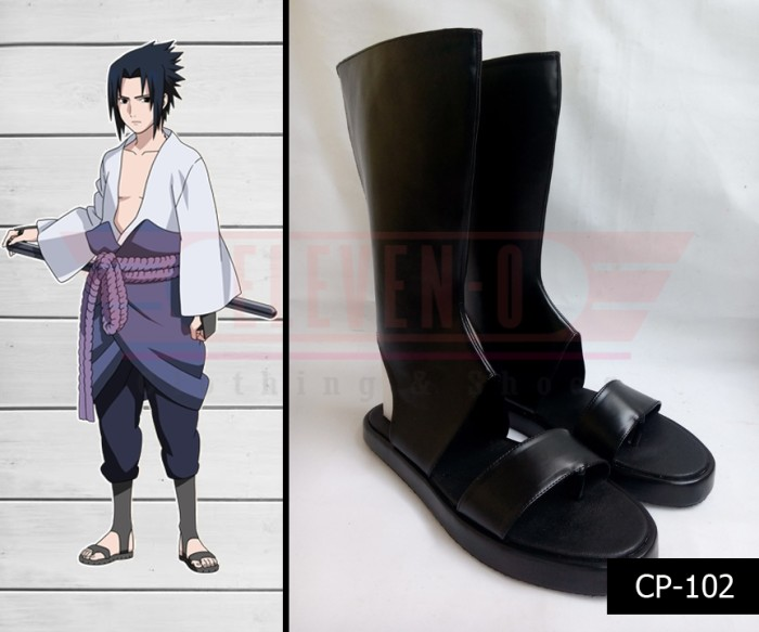 harga Sepatu cosplay naruto shippuden uchiha sasuke Tokopedia.com