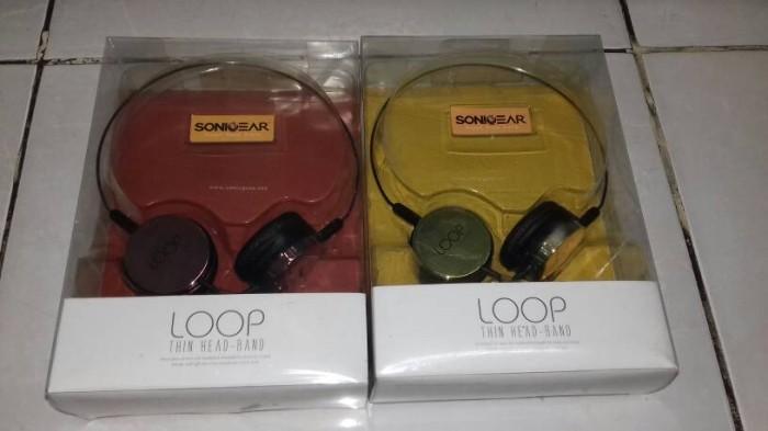 harga Sonic gear loop - thin head-band (headphone) Tokopedia.com