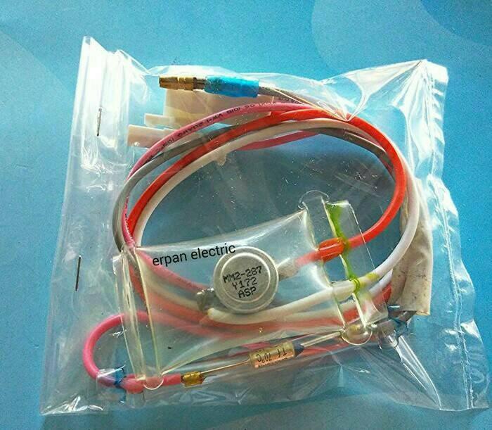 harga Defrost-bimetal kulkas 4 kabel toshiba + fuse Tokopedia.com