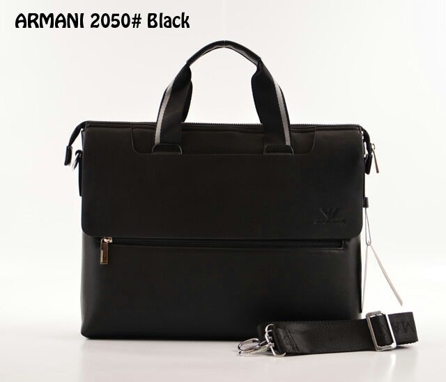 ... harga Tas giorgio armani briefcase leather hitam semi premium 2050  Tokopedia.com 46628d4f10
