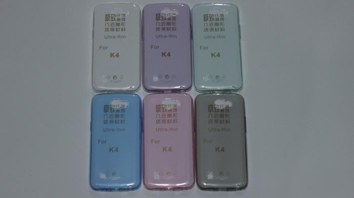Softcase/softshell Ultra Thin for LG K4 Merek original i-Century