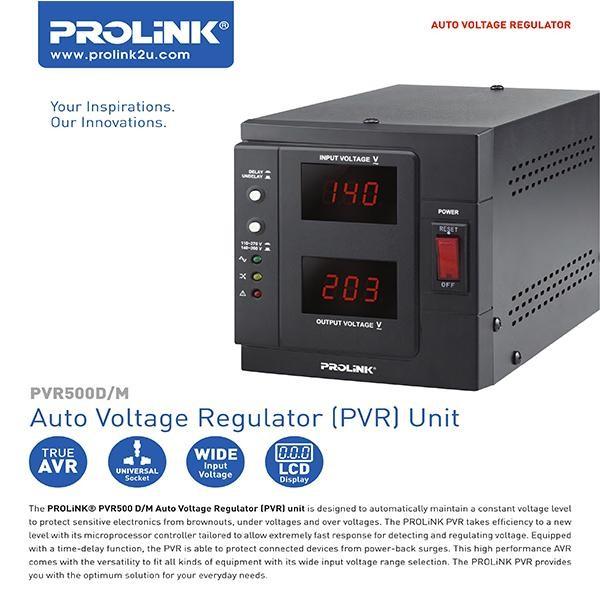 harga Avr prolink stabilizer auto voltage regulator 2000va-pvr2000d Tokopedia.com