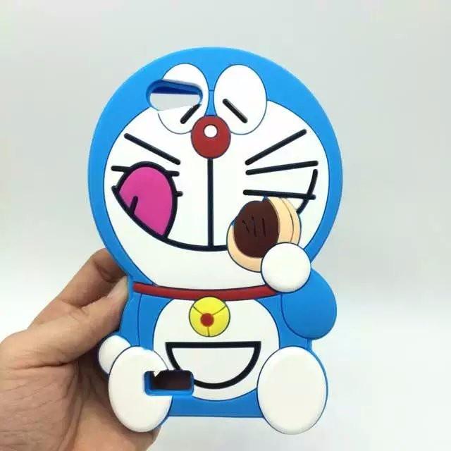 Jual Oppo Neo 7 3d Doraemon Silikon Sarung Softcase Case Gambar