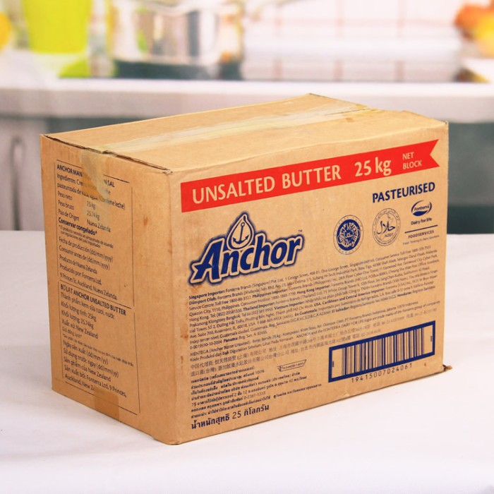 harga Anchor Unsalted Butter 25kg Tokopedia.com
