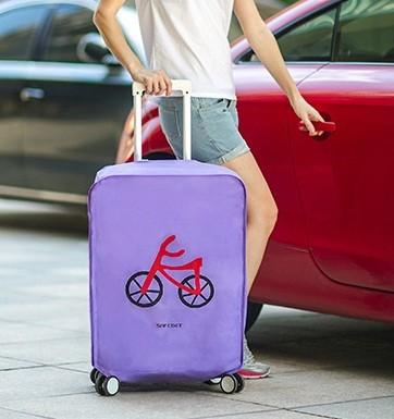 harga Cover / pelindung koper kain motif sepeda (24 inci) Tokopedia.com
