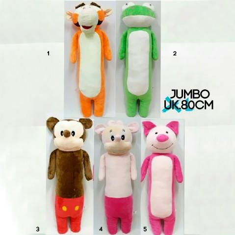 harga Bantal guling boneka tiger mickey keropi minnie piglet jumbo besar  Tokopedia.com 8920d1d37d