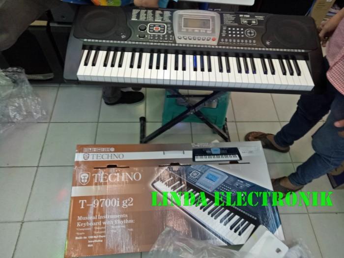 harga Plus stand keybord dan keyboard techno t 9700i g2 Tokopedia.com