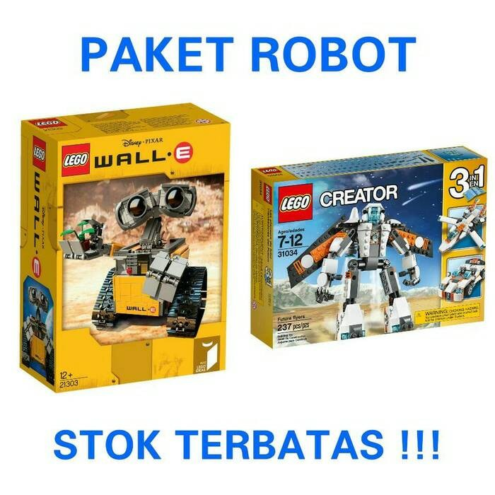 Jual Lego Ideas Wall E Lego Creator Future Flyers Top Bricks