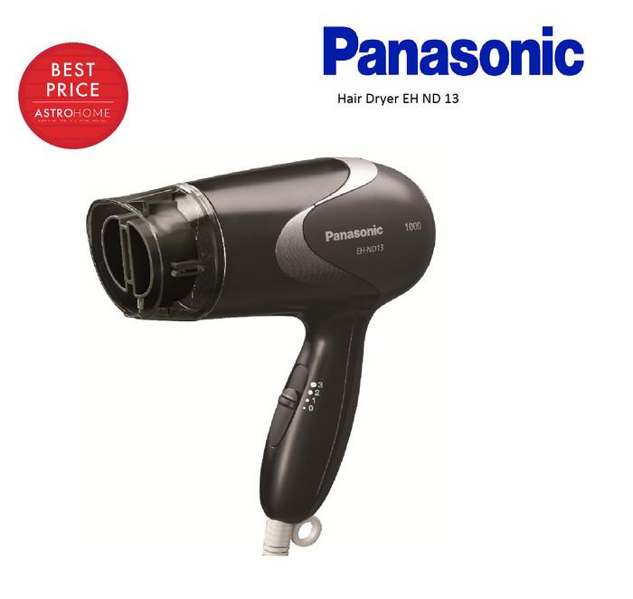 Panasonic Eh Nd13 Hair Dryer Pengering Rambut Hitam