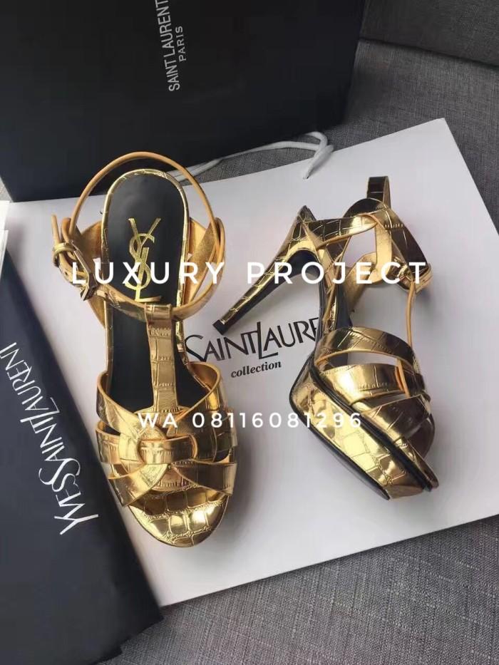 Jual Sepatu wanita cewek YSL Yves Saint Laurent heels 10 14cm ... 7a7eac49a0